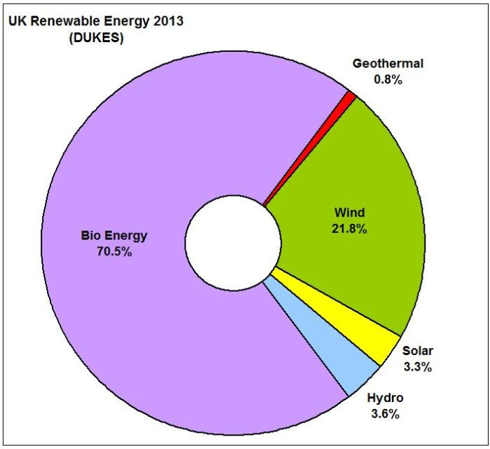 PIE_UK Renew Energy Perc Share 2013 DUKES